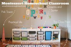 Montessori Tot School Classroom