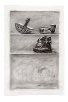 William Kentridge, Drawing for Medicine Chest, 2001
