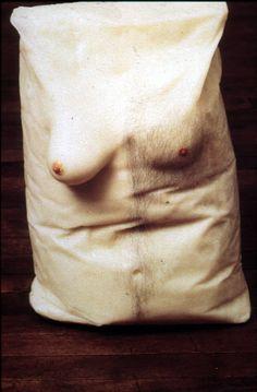 About Hiper Realism. Contemporary Sculpture, Contemporary Artists, Modern Art, Robert Gober, Political Art, Anatomy Art, Comme Des Garcons, Weird And Wonderful, Soft Sculpture