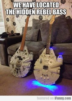We have found the rebel bass...