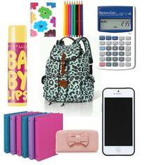 What's in my bookbag - diva Back To School Supplies For Teens, College School Supplies, School Items, School Backpack Essentials, Purse Essentials, Travel Essentials, School Locker Organization, School Lockers, Cute Backpacks For School