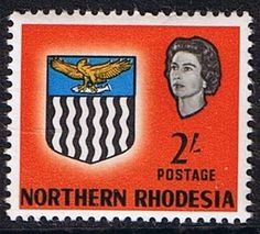 Northern Rhodesia 1963 Coat of Arms SG 84 Fine Mint SG 84 Scott 84 Condition Fine LMM Only one post charge applied on multipule purchases Details