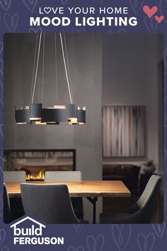 Welcoming, cheerful, mysterious, relaxing… the right lighting can set the mood. Discover designs that match your style. Kitchen Pendant Lighting, Dining Room Lighting, Dining Rooms, Love Your Home, Next At Home, Path Lights, Tiling, Home Remodeling, Dean