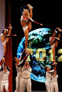 Pro Cheer Senior Large Co-ed at Cheerleading Worlds 2012 bit.ly/II6TOA