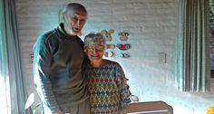 Dos bisabuelos de Vicente López crean juguetes para los chicos más necesitados