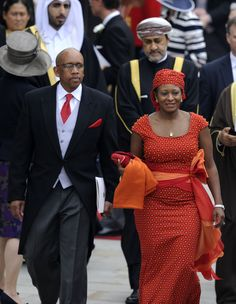 Their Royal Highnesses, Prince Seeiso and Princess Mabereng of Lesotho Black King And Queen, King Queen, African Culture, African History, African Fashion Dresses, African Dress, My Black Is Beautiful, Beautiful People, Kings & Queens