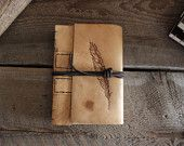 Hand Made Leather Journals custom and personalized! Willow Creek Leather Co