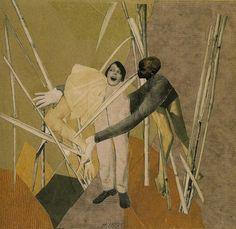 Hannah Höch. Collage. 1925.