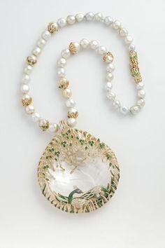 Jewels Emporium Peacock necklace