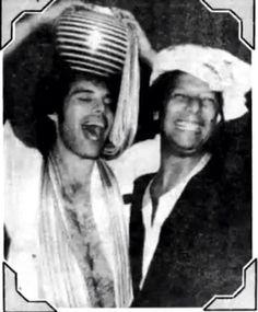 Freddie and Peter Straker