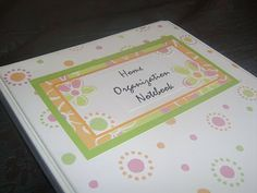 Little Family Fun: Home Organization Notebook: Her binder is a little intense but I like this idea. I think I'll start transforming my Arc to function this way. Daily Organization, Notebook Organization, Notebook Binder, Organizing Tips, Organisation Ideas, Notebook Ideas, Storage Ideas, Household Notebook, Household Binder