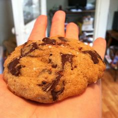 behold the perfect chocolate chip cookie!