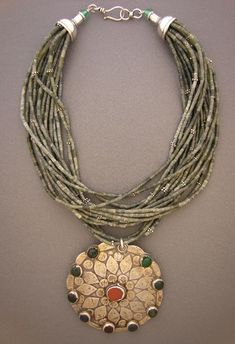 Anna Holland Jewelry | by Anna Holland | A very old pendant that once ... | Jewelry Design ...