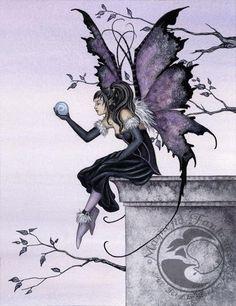 amy brown fairies | Amy Brown art print magnet Magnetic Fantasies