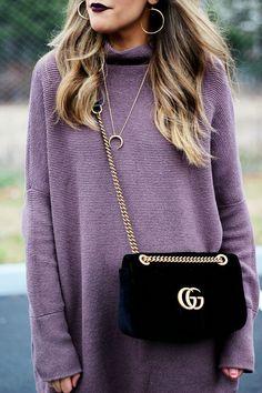 Velvet GG Gucci Marmont Matelasse Bag
