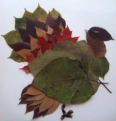 Craft of the Week: Leaf Turkey
