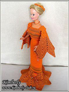 Barbie Crochet: Miss Autumn 2005, Pattern