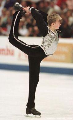 young Evgeni Plushenko