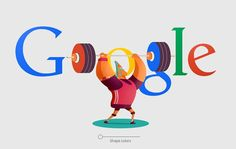 logo google rio 2016 | Google doodles for Rio 2016 Olympic Games is project for…