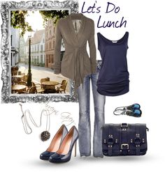 """""""Doing Lunch"""" by arreyn-grey on Polyvore"""
