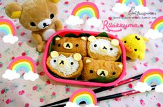 ❤ JENNI . illustrations ❤ — Today I made Rilakkuma Bento for lunch Can't go...