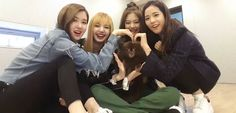 Blackpink having fun They're so cute ❤️