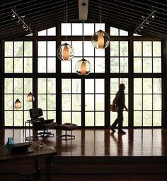 Love the look of these large pendants. Inner World Pendant Details | Tech Lighting
