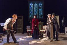 "Aquila Theatre in Sir Arthur Conan Doyle's ""The Adventures of Sherlock Holmes""The legendary sleuth, Sherlock Holmes, takes the stage in this witty, ..."