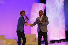 Calum Worthy & Michael David Palance at #PremiereProgram July 2015
