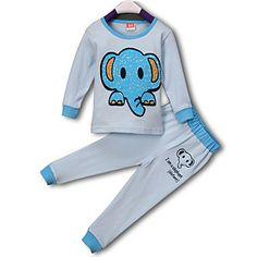 Children's Monkey Print 3 Pieces Pure Cotton Clothing Sets