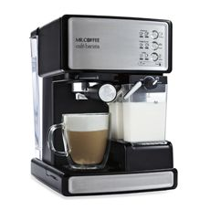 I might save money for this one. Mr. Coffee Cafe Barista Espresso Maker - Bed Bath & Beyond