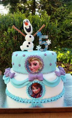 Frozen cake ❄⛄