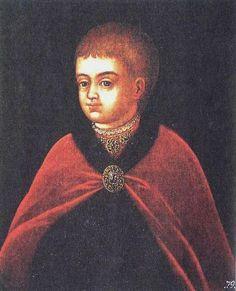 'Portret van de jonge Peter de Grote', 17e eeuw / Kunstenaar onbekend.