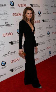 Stana Katic an der Intimate Cocktail und Dinner Event