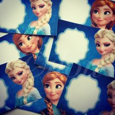 Frozen Wishing cards