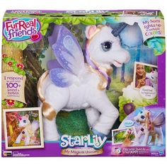 BOUGHT-✔Lydia & Savannah FurReal Friends StarLily, My Magical Unicorn - Walmart.com
