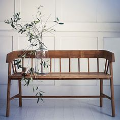 Byron Indoor Outdoor Bench - furniture
