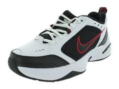 Nike Men's Air Monarch IV Training Shoe (White / Black / Varsity Red, 10  D(M) US) - Crazy By Deals discounts and bargains