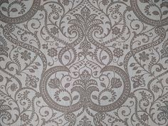 Designer Curtain Upholstery Fabric French Linen Jaipur Taupe On White By Metre in Crafts, Sewing & Fabric, Fabric | eBay