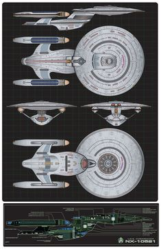Here is my latest custom starship commission. This time it was an order for the Probert Proto-Ambassador Class Starship. Another great ship designed by Andrew Probert. Spaceship Art, Spaceship Concept, Concept Ships, Trek Deck, Stark Trek, Starfleet Ships, Star Trek Images, Star Trek Characters, Star Trek Starships