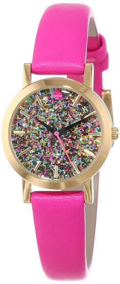 kate spade new york Women's 1YRU0269 Glitter Dial Metro Mini Watch