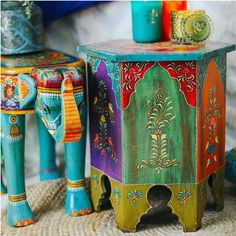Select boho flavour with the Patchwork Chai Table. Great for your hippie bedroom or living area! Check out India-inspired furnishings from ISHKA today. Side Tables, Chai, Lounge, Home Decor, Scrappy Quilts, Airport Lounge, Drawing Rooms, Decoration Home, Nightstands And Bedside Tables