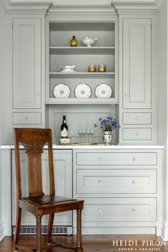 Heidi Piron Design and Cabinetry | Butler's Pantry | 14