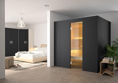 ARVO NIGHT BLACK - Designer Saunas from KÜNG ✓ all information ✓ high-resolution images ✓ CADs ✓ catalogues ✓ contact information ✓ find your..