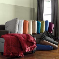La Crosse® Supersize Primaloft® Deluxe Blanket or Throw | The Company Store