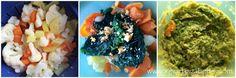 Šarena kašica (batat, blitva, karfiol, žumanjak...) za bebe 9+