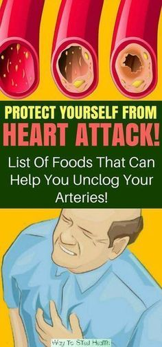 Protect Yourself From Heart Attack! List Of Foods That Can Help You Unclog Your Arteries!