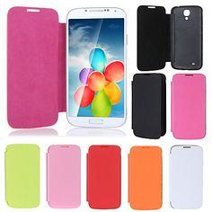 [XmasSale]Elegant Back Cover Flip Battery Housing Case for Samsung Galaxy S4 i9500 - USD $ 3.55