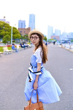 ICCHO STYLE BLOG -TOKYO STREET STYLE MAGAZINE: i-con.05 - Sahomi Nakanishi