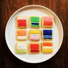 Mark Rothko cookies! Maybe we can get the café to serve these throughout the run of the exhibition. :)